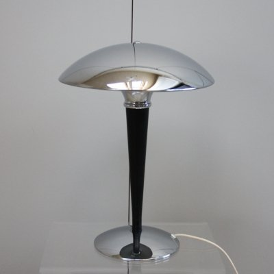 Vintage table lamp in art deco style, Sweden 1970's
