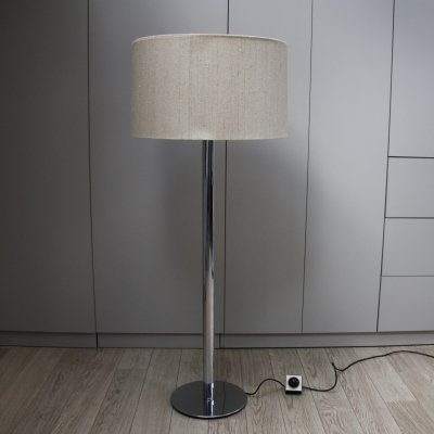 Staff Floorlamp with chrome plated foot, Germany 1970's