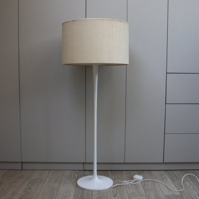 Staff Floorlamp with white tulip foot, Germany 1960's