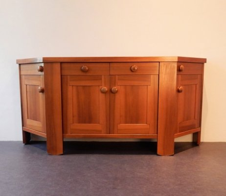 Walnut sideboard by Silvio Coppola for Bernini, Italy 1960's