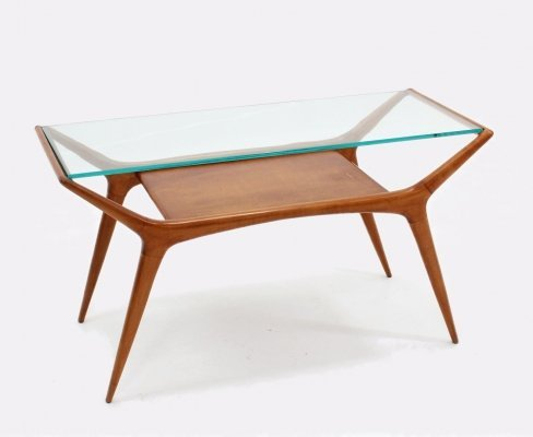 Italian mid century coffee table, 1950s