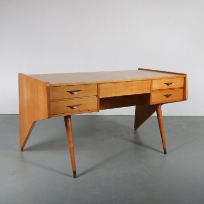 Oswald Vermaercke 'Oslo' Desk for V-Form, Belgium 1950