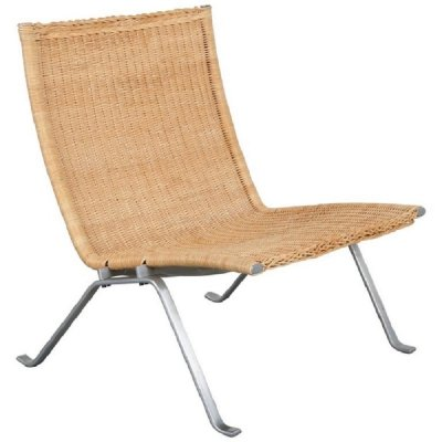 PK22 Lounge Chair by Poul Kjaerholm for Kold Christensen, Denmark 1960