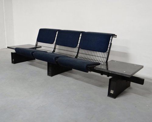 Waiting bench by Carlo Nason for Tecno, 1970s