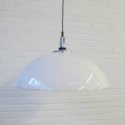 2 Big Raak Amsterdam space age hanging lamps, 1970s