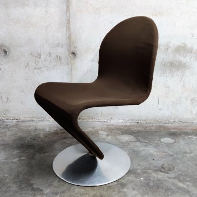 123 chair by Verner Panton for Fritz Hansen, 1970s