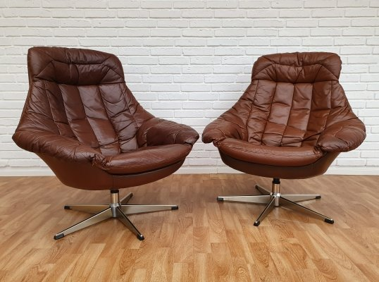 Pair of Henry W. Klein lounge chairs, 1970s