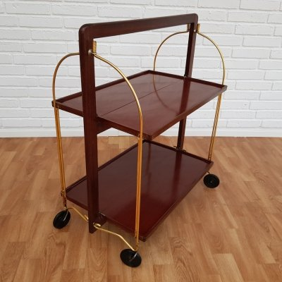 Foldable cart table by Marie Francoise Mondineu, France 1950s