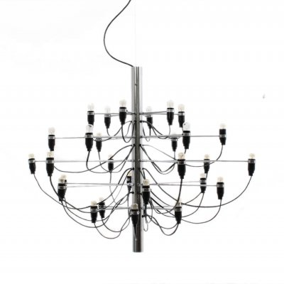 Sarfatti 2097/30 hanging chandelier by FLOS, 1980s