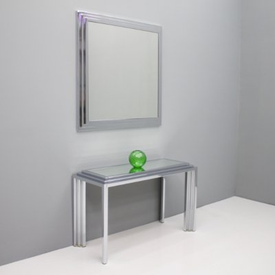 Mirror & the matching Console Table, France 1974