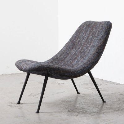 Rare Lounge Chair 122 by Theo Ruth for Artifort, 1956