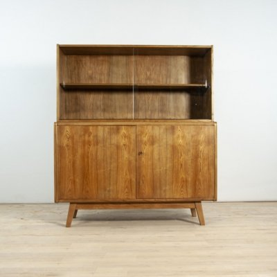 Cabinet with Bookcase by Hubert Nepozitek & Bohumil Landsman for Jitona, 1960s