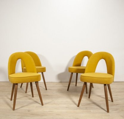 Set of 4 Dining Chairs by Antonín Suman for Tatra, 1960s