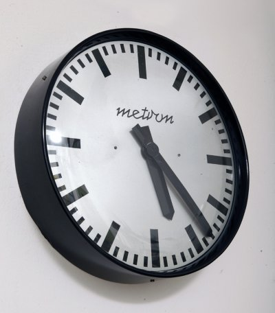 Metron wall clock, Poland 1970s