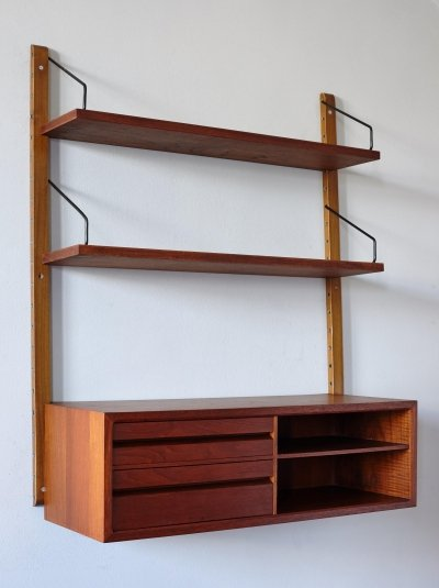 Wall Unit by Poul Cadovius for Royal System, 1960's