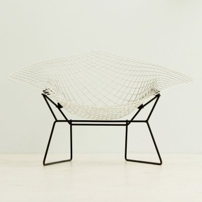 Large Diamond Chair by Harry Bertoia for Knoll