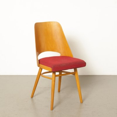 Chair 514 by Oswald Haerdtl & Lubomír Hofmann for TON