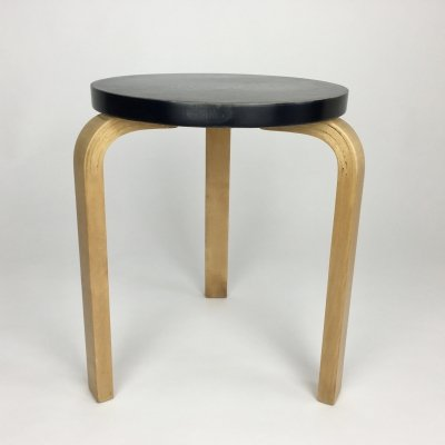 Model 60 stool by Alvar Aalto for Finmar, 1940s