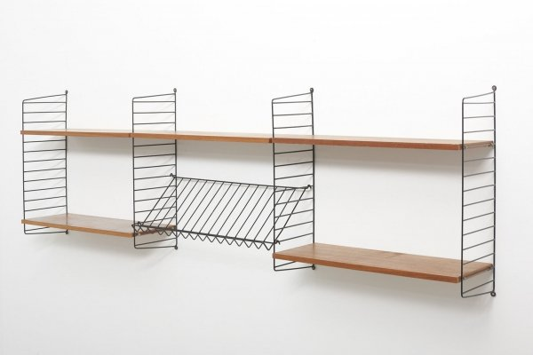 String wall unit by Nisse Strinning, 1960s