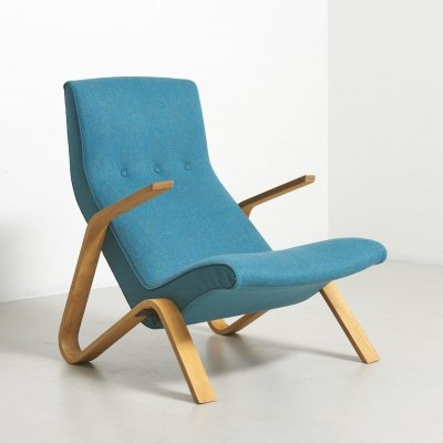 Grasshopper lounge chair by Eero Saarinen for Knoll, 1950s