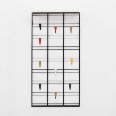 Servo Muto Coat rack by Tjerk Reijenga for Pilastro, Dutch design 1950s