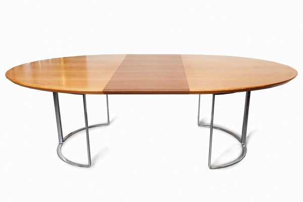 Extendable Dining or Conference table by Horst Brüning, Germany 1970s