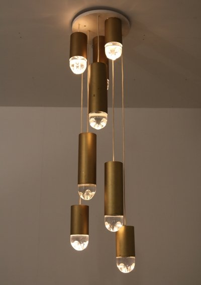 Large Hanging Lamp by Raak, Netherlands 1960