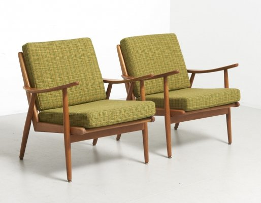 Pair of vintage lounge chairs, 1960s