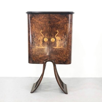 Art Deco Bar Cabinet by Luigi Scremin, 1940s