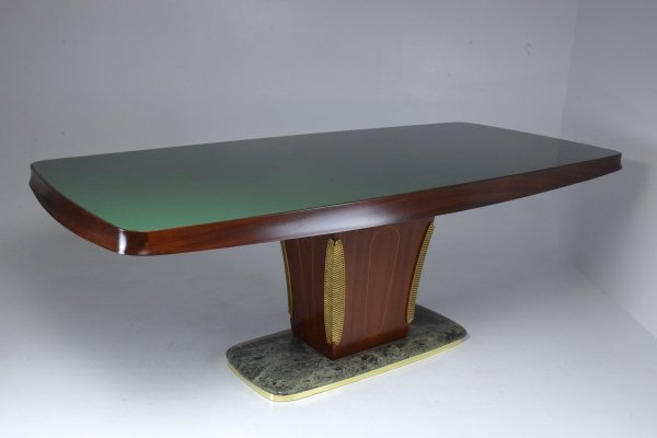 Italian Vintage Midcentury Dining Table by Vittorio Dassi, 1940s-1950s