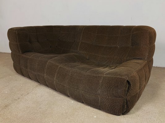 Ligne Roset Kashima sofa in brown stripes