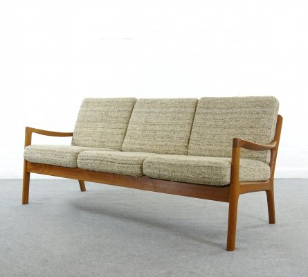 Senator 3-seater Teak sofa by Ole Wanscher for Cado, Denmark