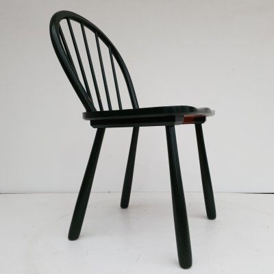 Danish chair in teak wood by Fritz Hansen, 1950s