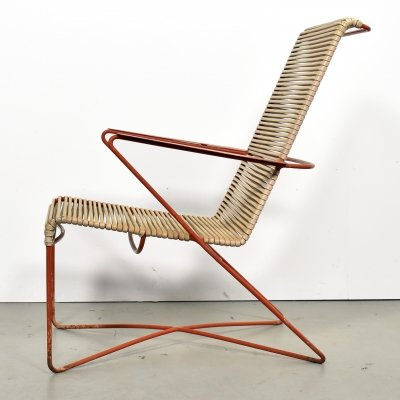 Modernist lounge chair, 1950s