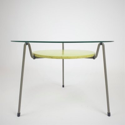 Mid Century Dutch Design '535' coffeetable by Wim Rietveld for Gispen, 1953