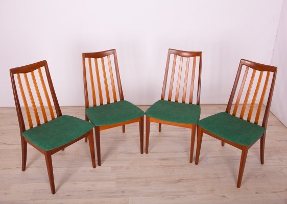 Set of 4 Dining Chairs by Leslie Dandy for G-Plan, 1960s