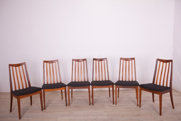 Set of 6 Dining Chairs by Leslie Dandy for G-Plan, 1960s