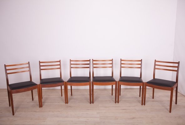 Set of 6 Dining Chairs by Victor Wilkins for G-Plan, 1960s