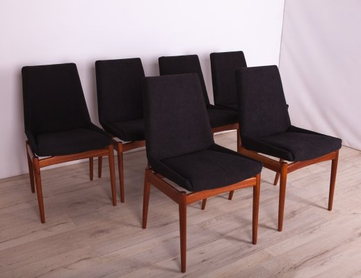 Set of 6 Hamilton Teak Dining Chairs by Robert Heritage for Archie Shine, 1960s