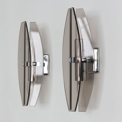 Pair of Glass Sconces