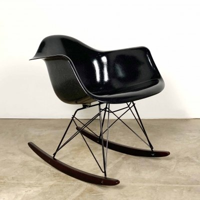 RAR Fiberglass Rocking Chair by Charles & Ray Eames for Herman Miller, 1980s