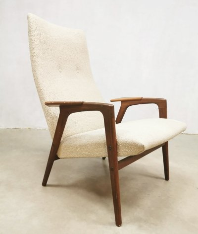 Vintage design 'Ruster' Gentlemen's arm chair by Yngve Ekstrom for Pastoe