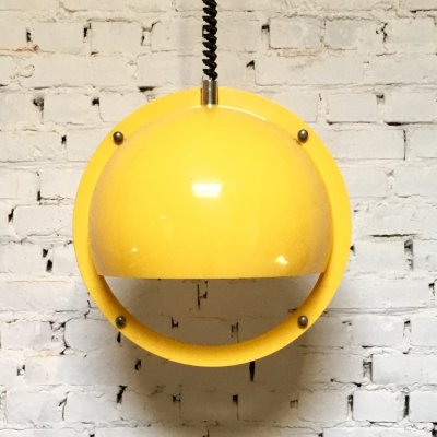 Yellow Guzzini pendant lamp