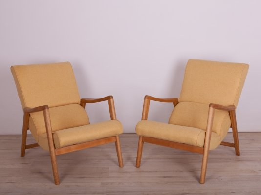 Pair of Model 411 Siesta Armchairs by Victor Wilkins for G-Plan, 1960s
