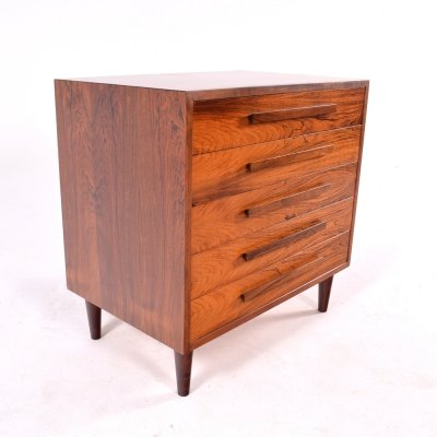 Mid Century Rosewood Chest of Drawers