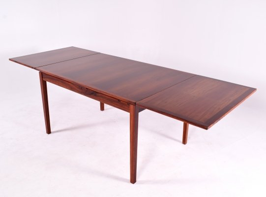 Midcentury Rosewood Dining Table by Kaj Winding for Slagelse