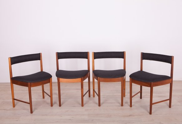 Set of 4 Mid-Century Teak Dining Chairs Model 4103 from McIntosh, 1960s