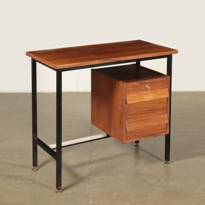 1960s Vintage Writing Desk