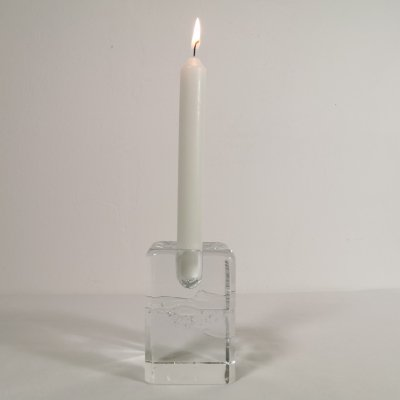 Glass Arkipelago Candle Holder by Timo Sarpaneva