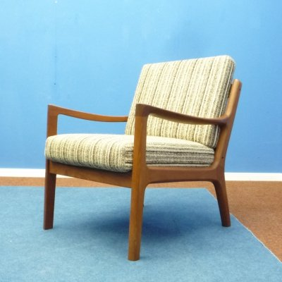 Teak Senator Chair by Ole Wanscher for Cado, 1960s
